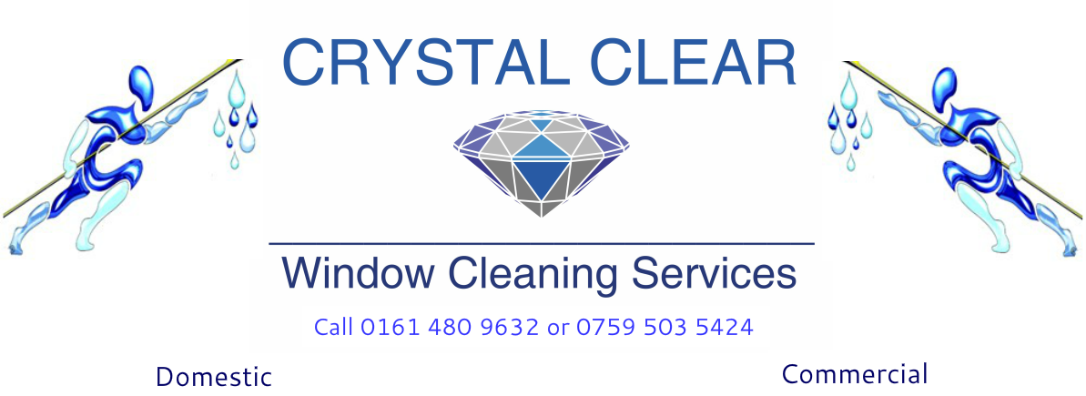 Crystal Clear Window Cleaners - For all your window cleaning needs in Stockport and Greater Manchester